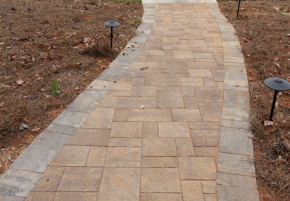 Terrace Stone Walkway