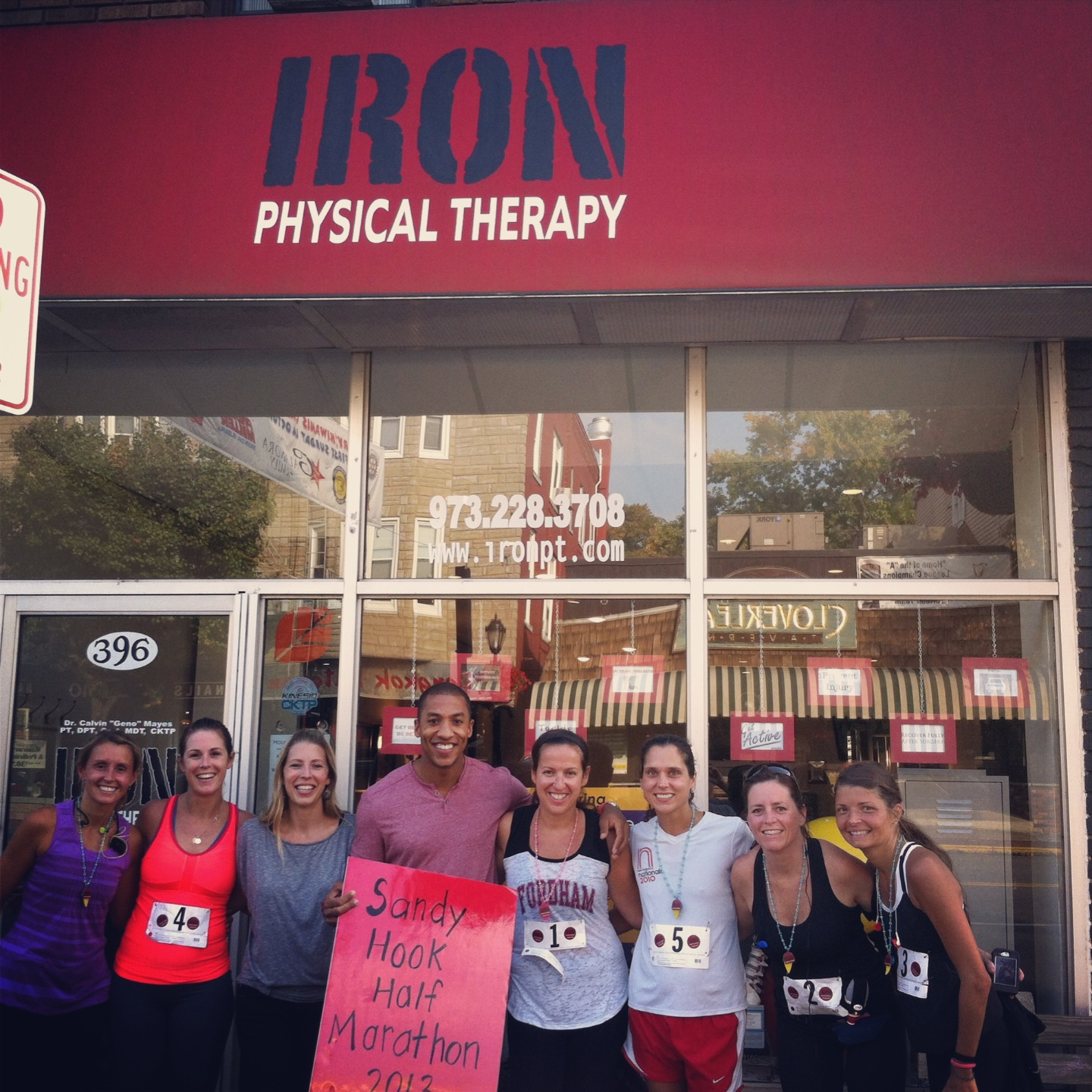 Iron Physical Therapy Half Marathon