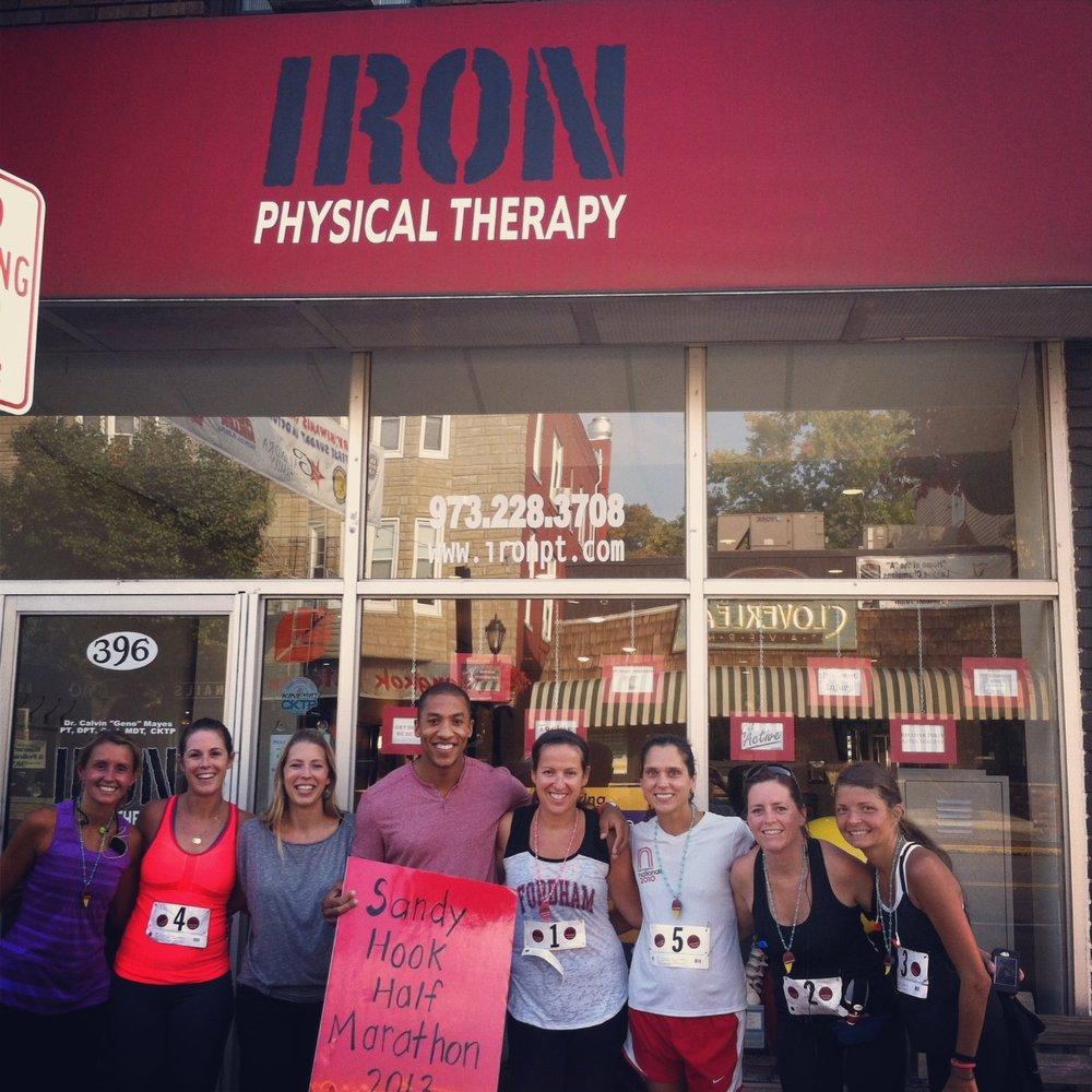 Iron Physical Therapy Half Marathon