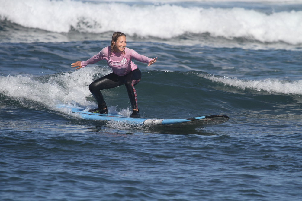 Surfing Knee Pain