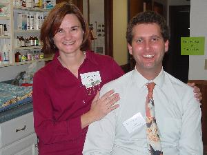 Dr. Ann Vetter and her husband Dr. John Dally