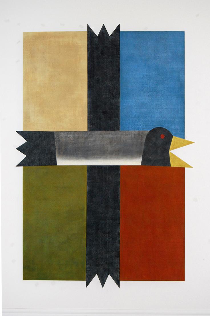 Barry Lett Big Heraldic Bird 2200 x 1500