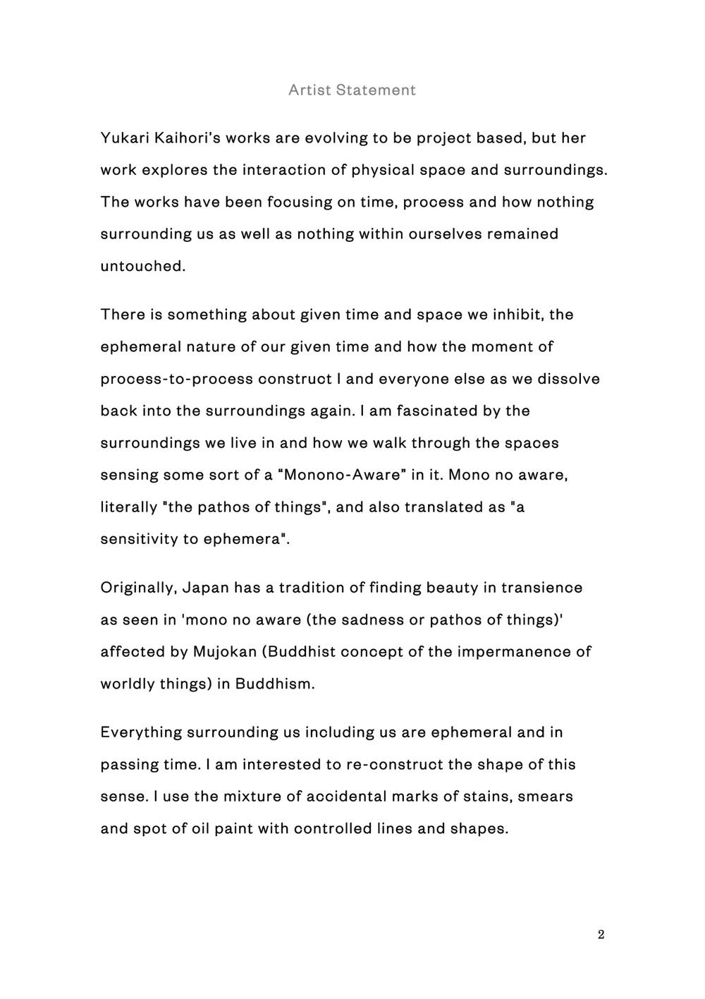 Statement YUKARI KAIHORI.jpg