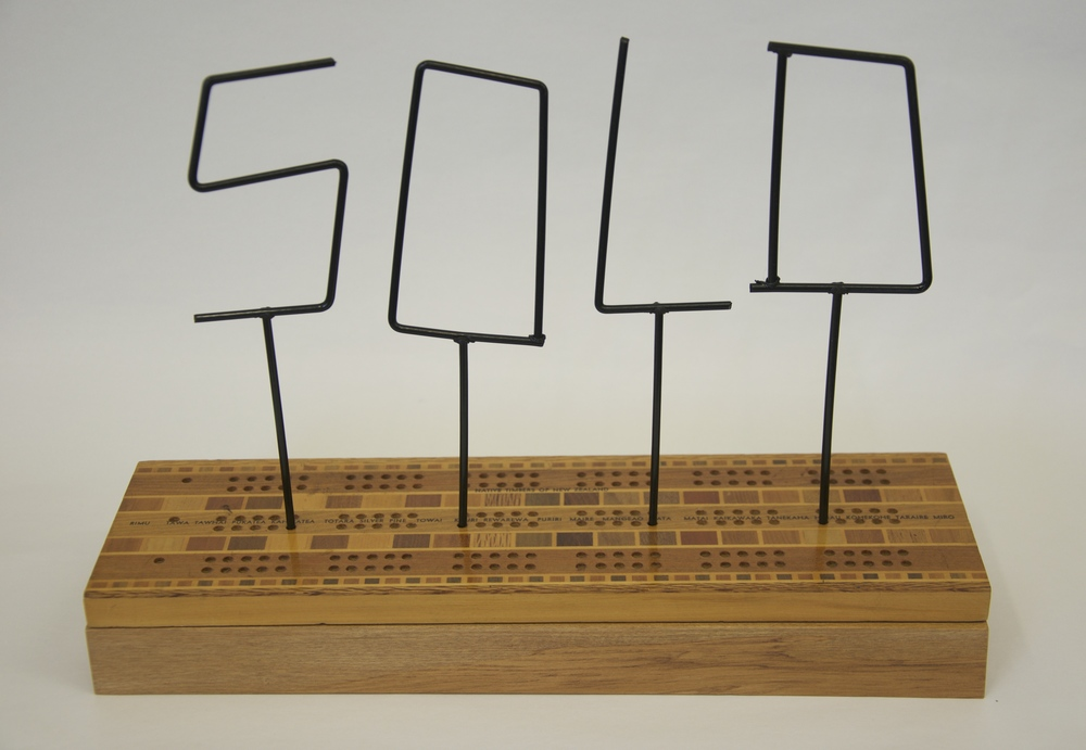 Sold, Old, Gold - Crib box - Iain Cheesman