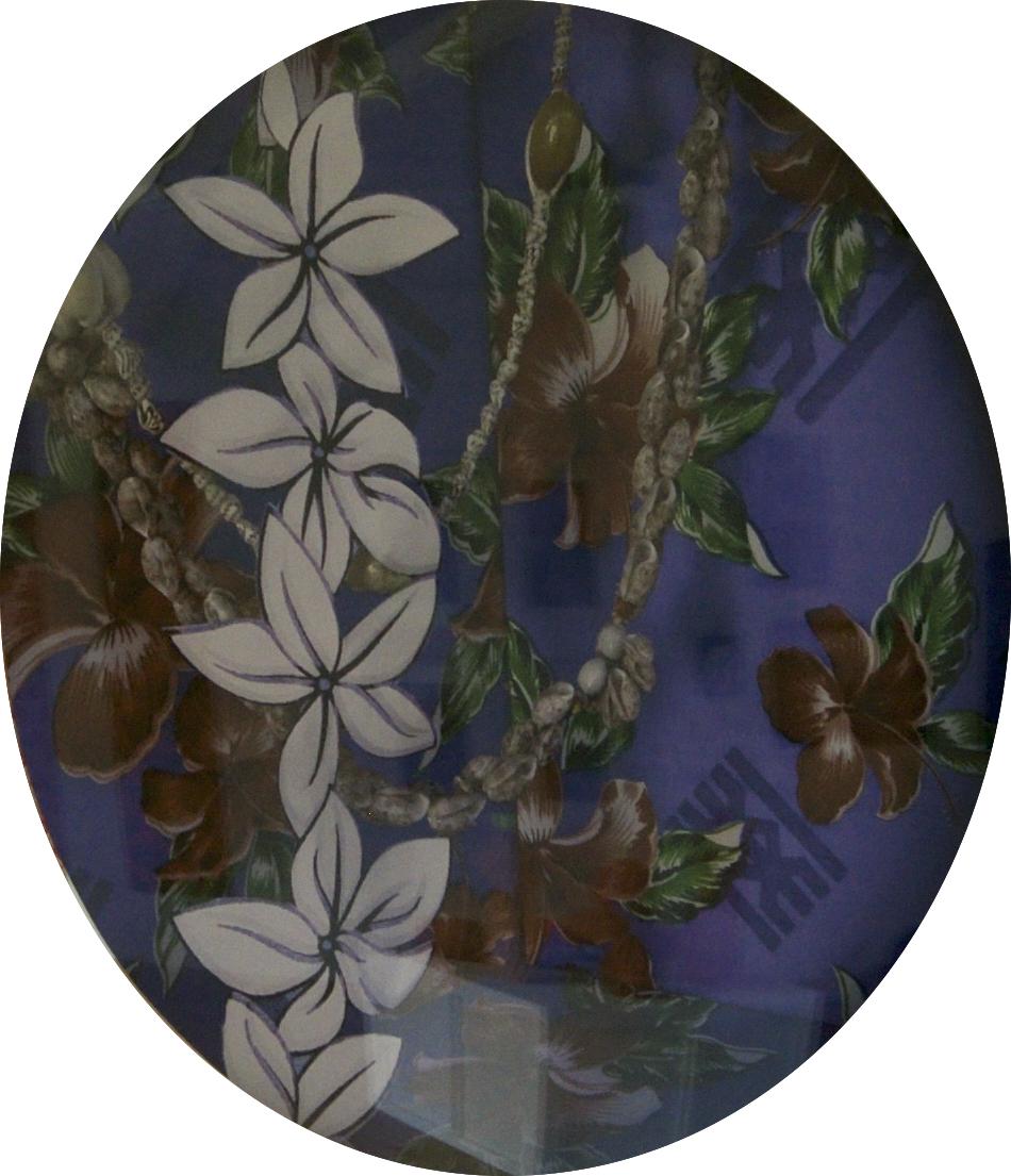 Auīka (Blue) (Detail)