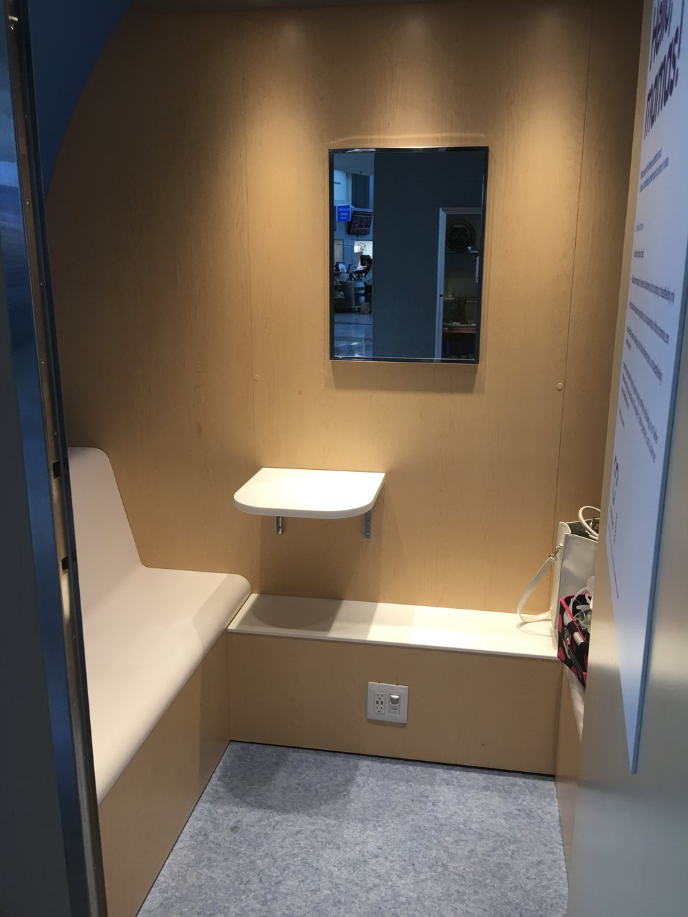 mamava pod at atlanta for breastfeeding, pumping tips