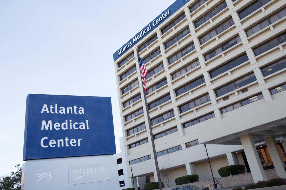 Meet us at the Health Pavilion, 320 Parkway Drive Northeast, Atlanta, GA, 30312