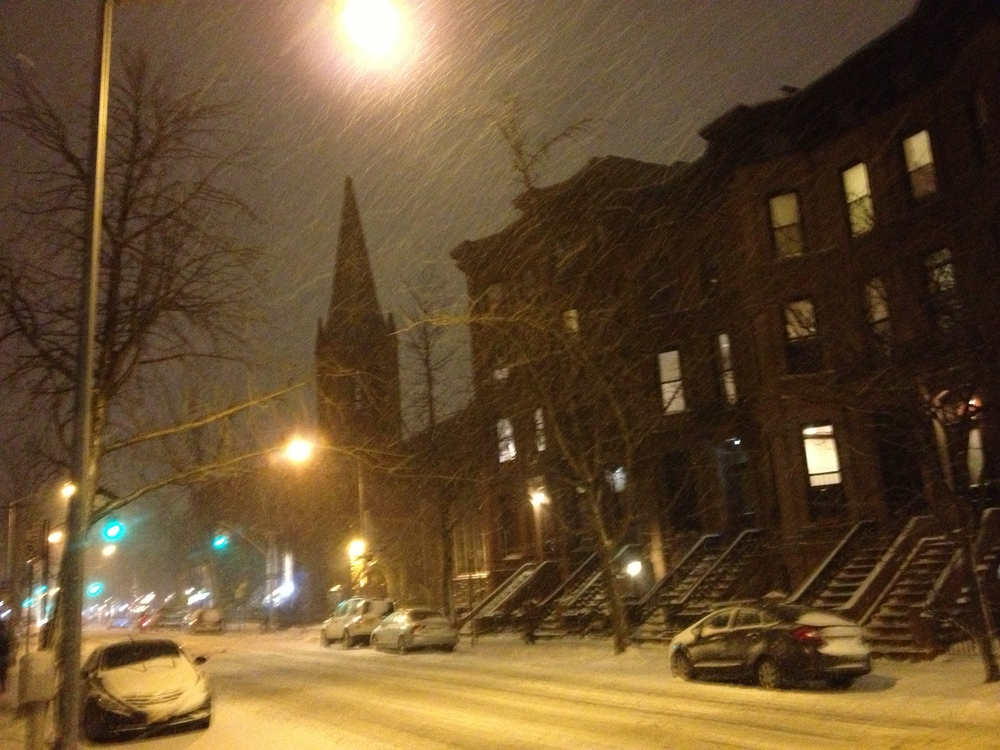 Ahhh, home. Good ol' Park Slope.