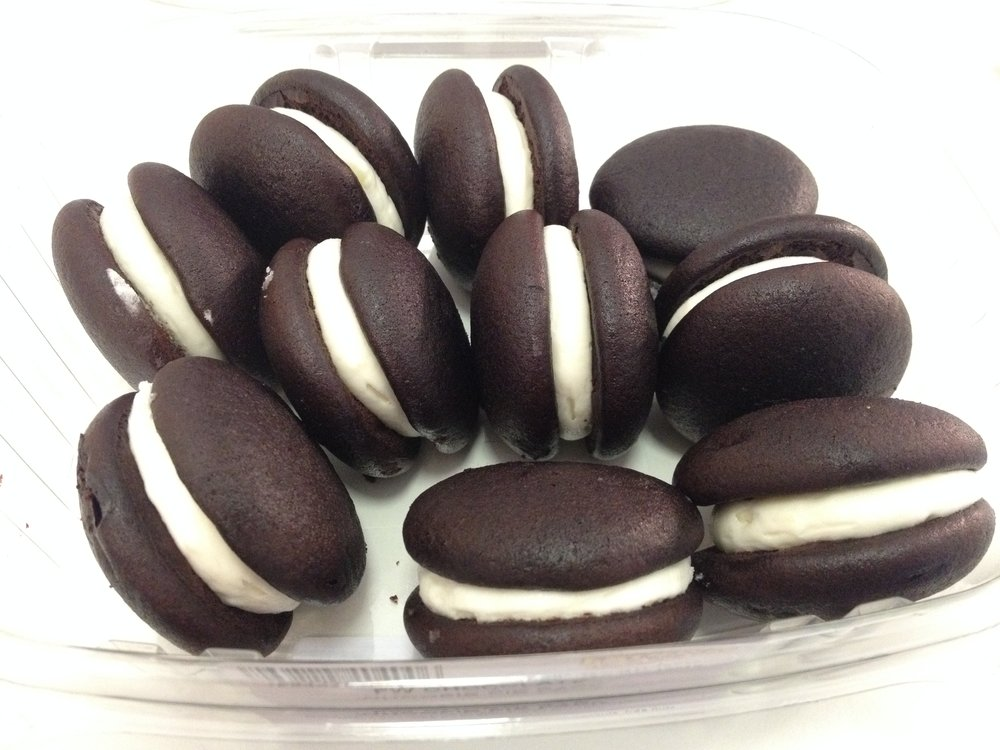 Fairway mini moon pies. Impossible to eat just one.
