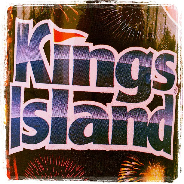 Having a great time with great people at Kings Island.