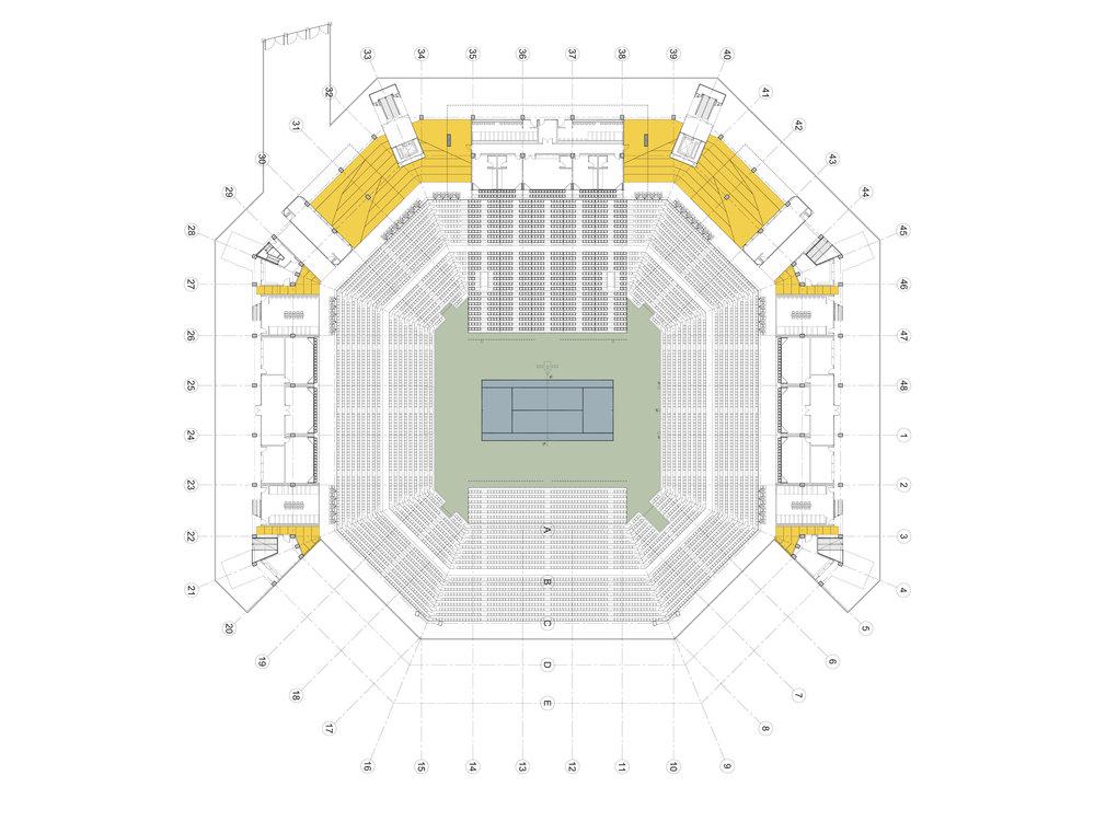 Tennis Centre Renovation