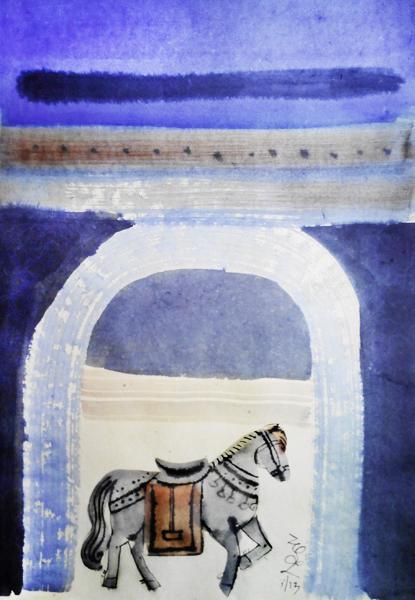 Bach Ma Temple Gate, 7 0x 50 cm