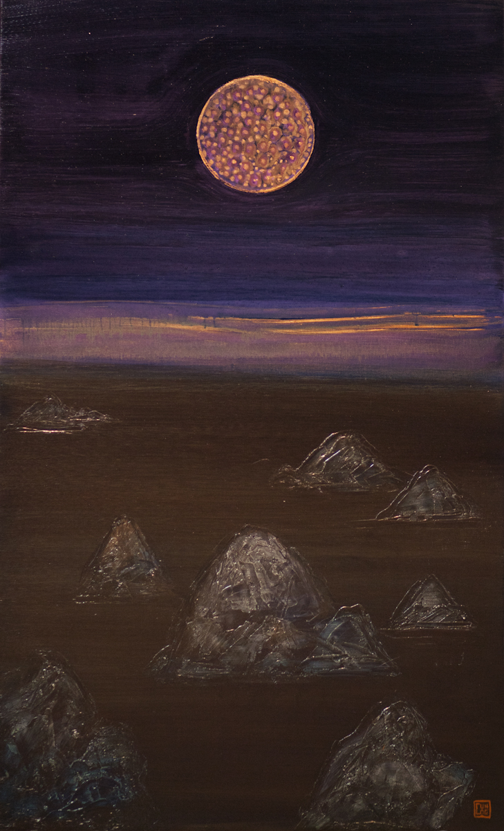 AffinityforART_NGUYEN Tran Cuong_Moon Blush_ 2014_ Oil on Canvas_100 x 60cm.jpg