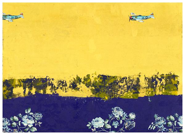 Blue River 藍河, 2014, 72.5x 100 cm