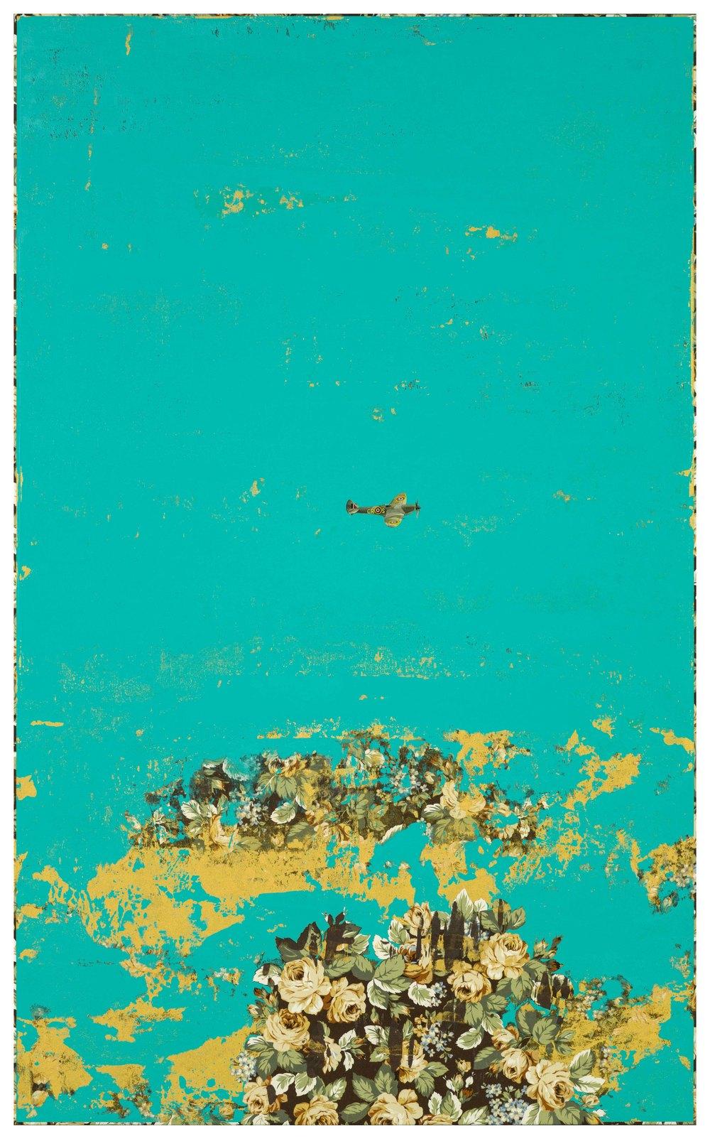 Sandbar 沙提, 2015, 145.5 x 89.5 cm