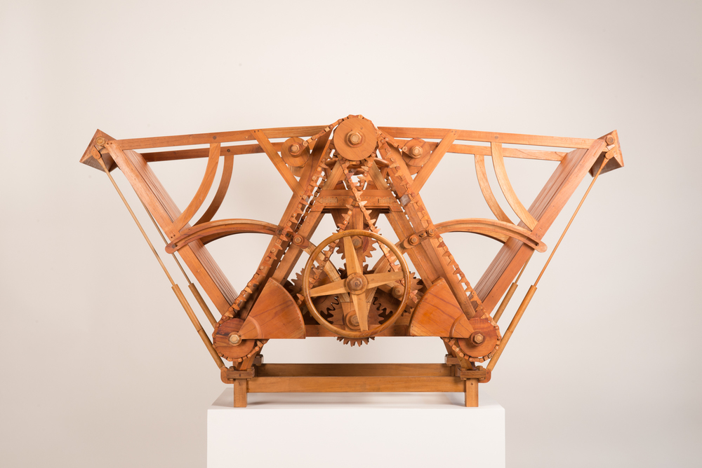 Little Bridge , Teak and Suren Wood, 2012, 155L x 87H x 85W  cm