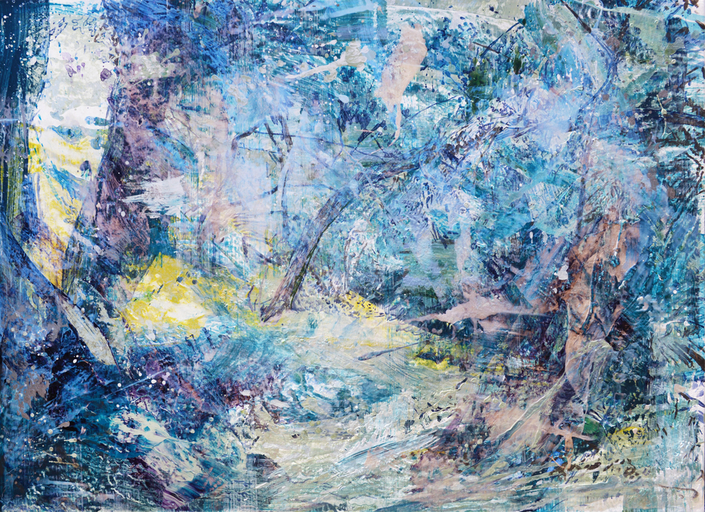 Forest #7 | 森林 #7, 2016, Acrylic on Canvas, 72.5 x 100 cm, SHIU Sheng Hung | 許聖泓