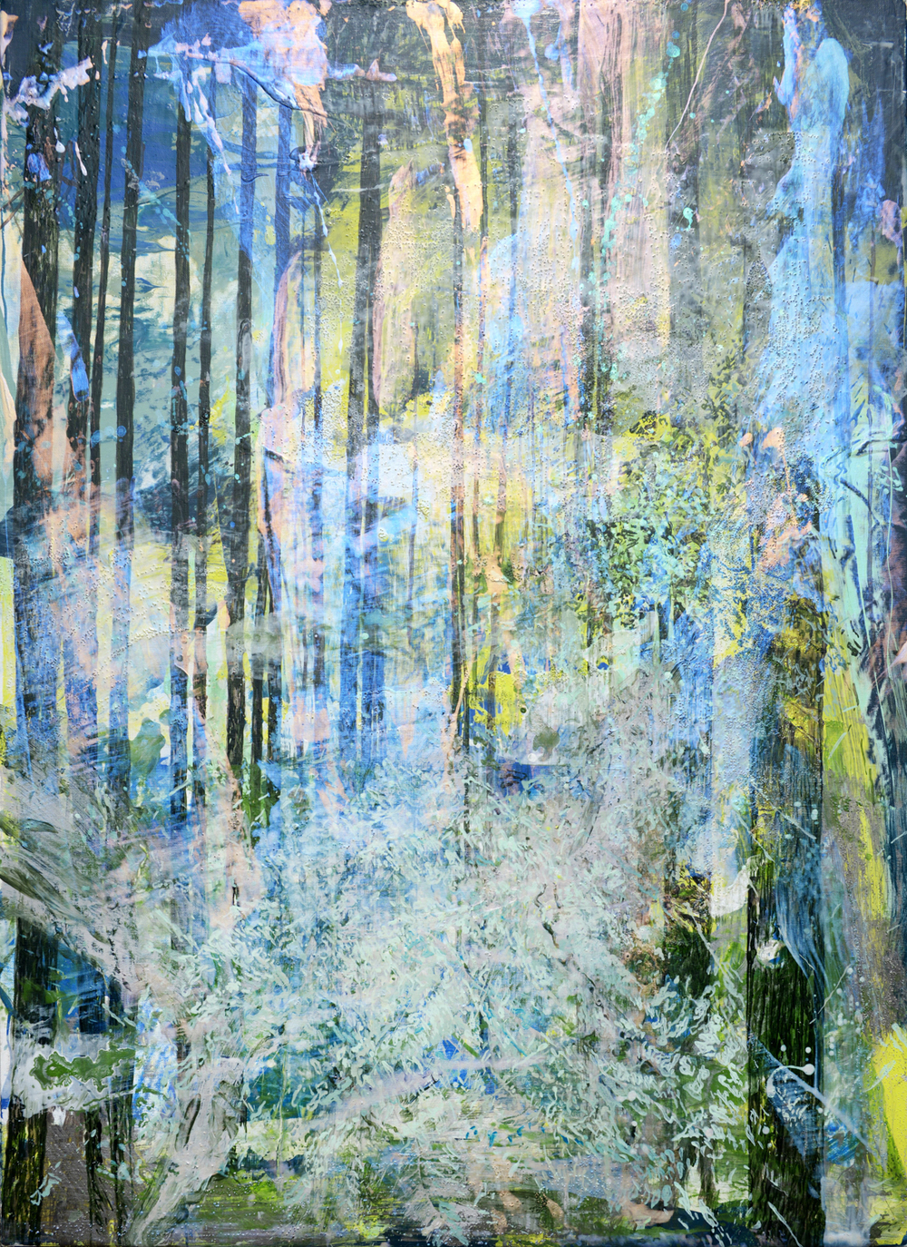Forest #8 | 森林 #8, 2016, Acrylic on Canvas, 100 x 72.5 cm, SHIU Sheng Hung  | 許聖泓