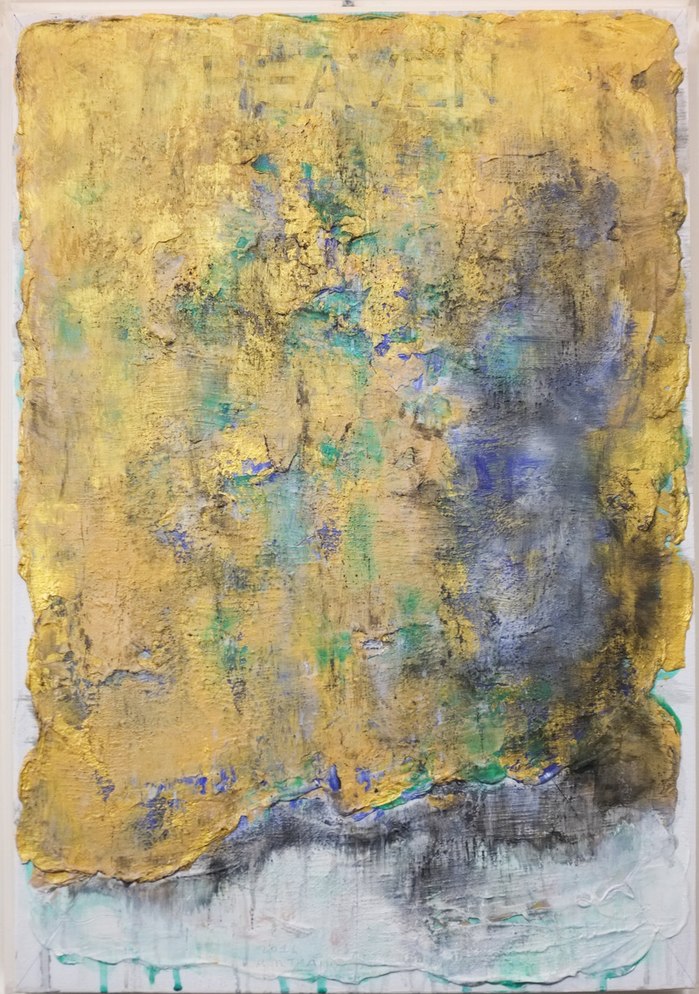 Midnoon #3 , 2016, Oil, Acrylic, Acrylic Medium and Charcoal on Canvas, 69.5 x 48 cm