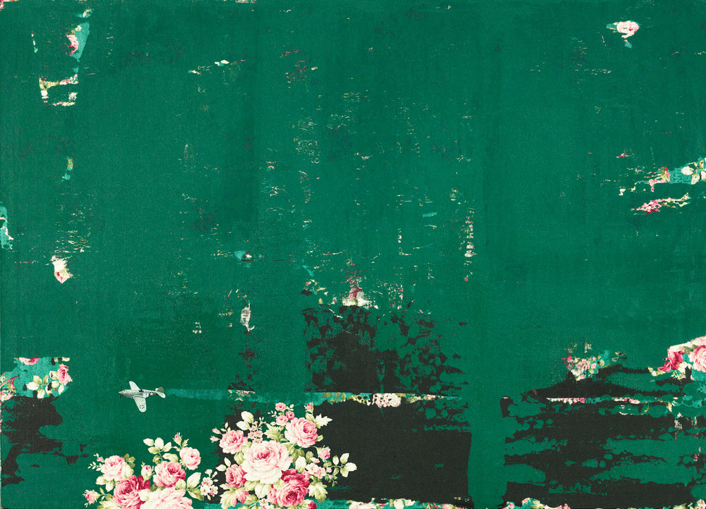 CHI Chien, Deep Forest, 2014, Mixed Media, 73 x 100 cm, Affinity for ART.jpg