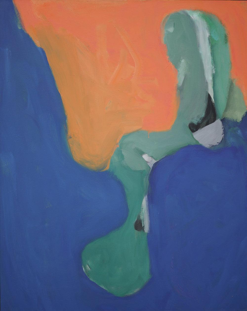 Somyot Hananuntasuk, 2013_05 , 2013, Oil on Canvas, 100 x 80 cm