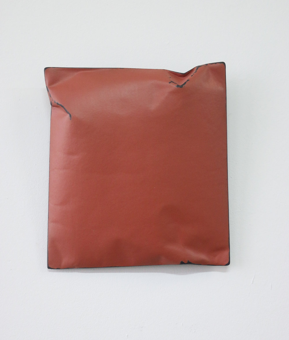 Johan De Wit, Untitled, 2018, Paper, Resin, Marble, Acrylic, 21 x 19 x 4 cm.jpg