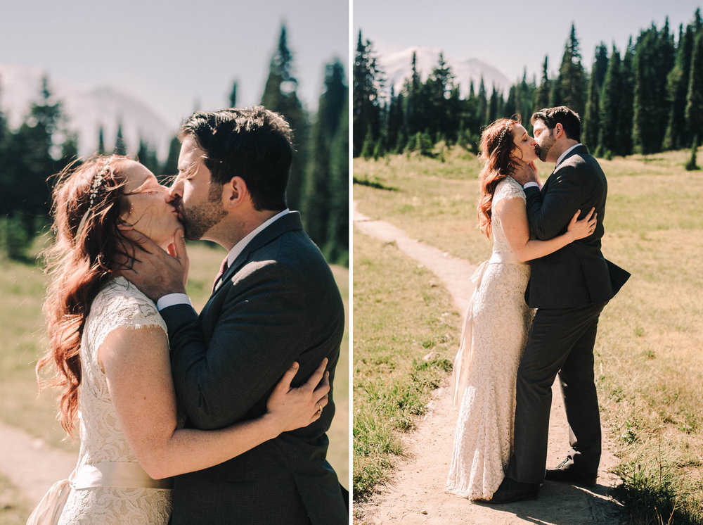 mt rainier elopement photographer bride and groom romantic moody lookslikefilm.jpg