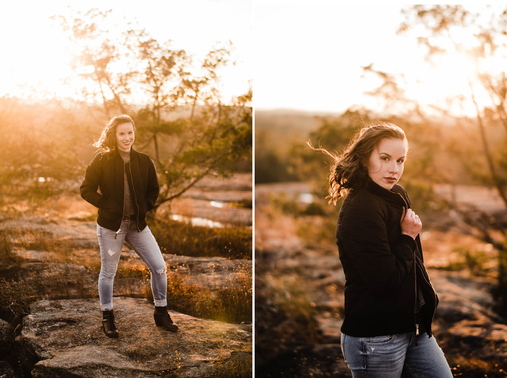 atlanta arabia mountain adventure senior portrait photographer.jpg