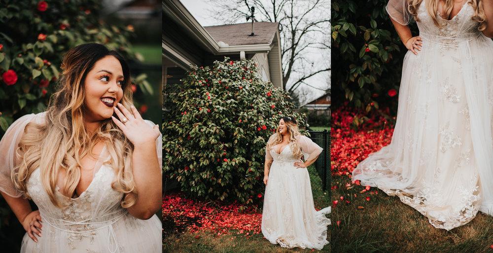 The Sentimentalist Atlanta Nontraditional Wedding Bridal