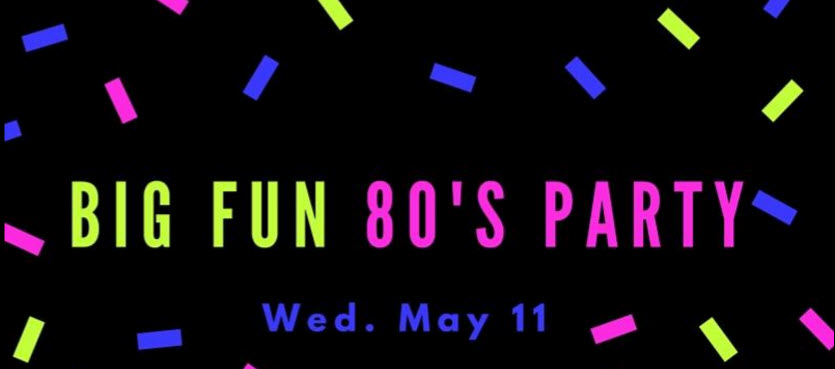 Get out your shoulder pads and hairspray - 80s night is on it's way! May 11, our #MTPHeathers' choreographer will be showing us iconic 80s dance moves. Remember to dress in your favourite 80s outfit, as a cult movie character or hilarious celebrity from the era and stop by the Big Fun photo booth to have your picture taken with your friends!