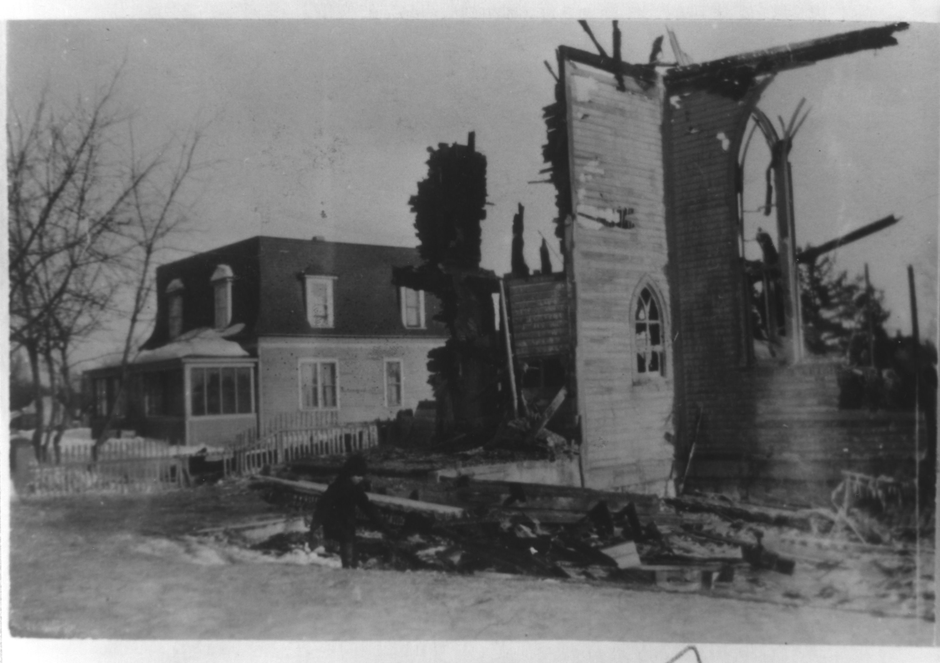 Second Church Fire