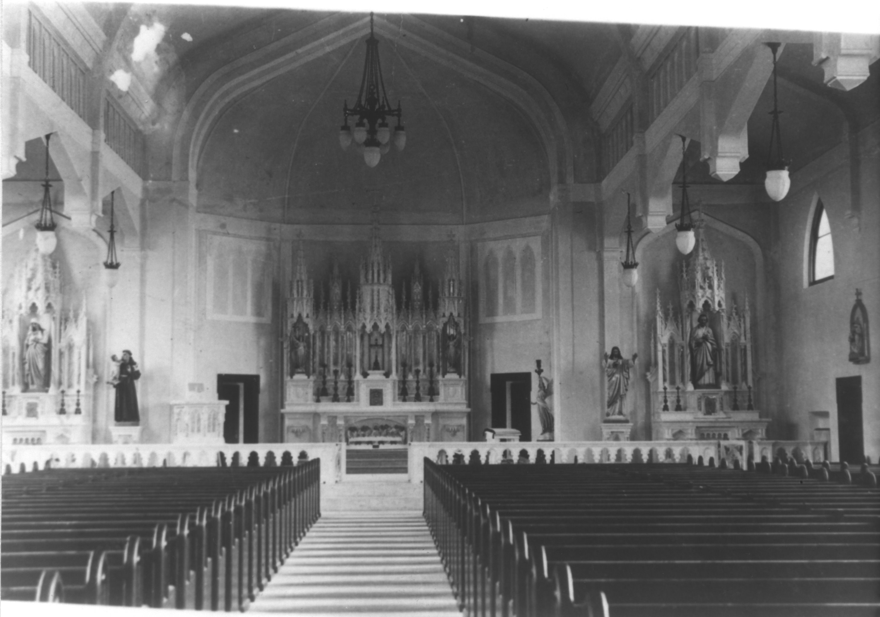 Interior of Third Church