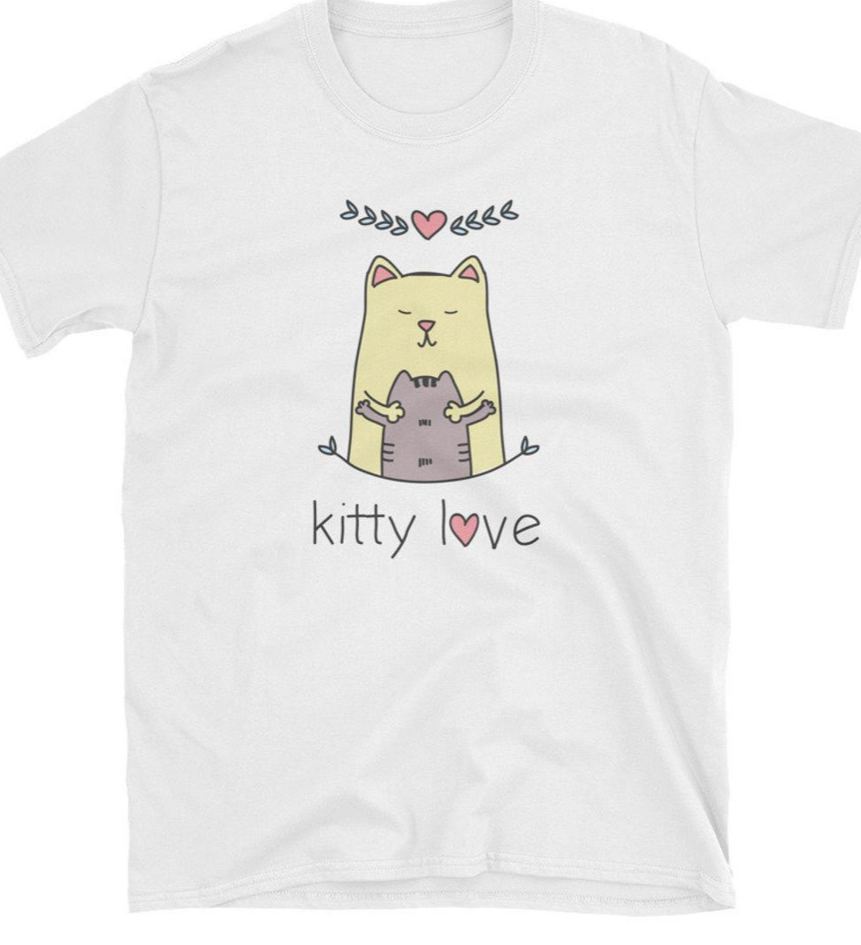 T-shirt Chari-Tee Kitty Love