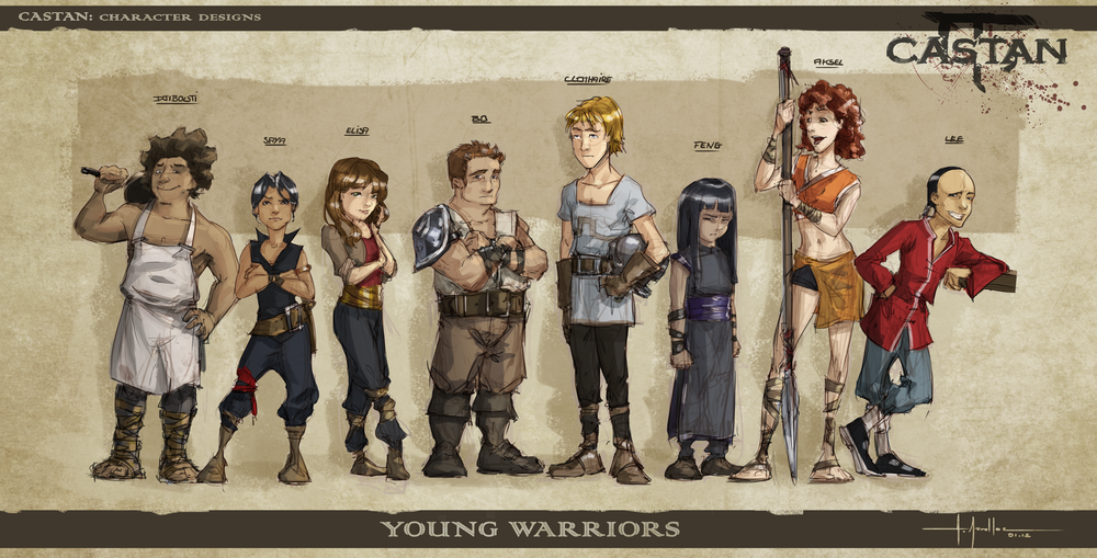 Castan T.1 - Young Warriors