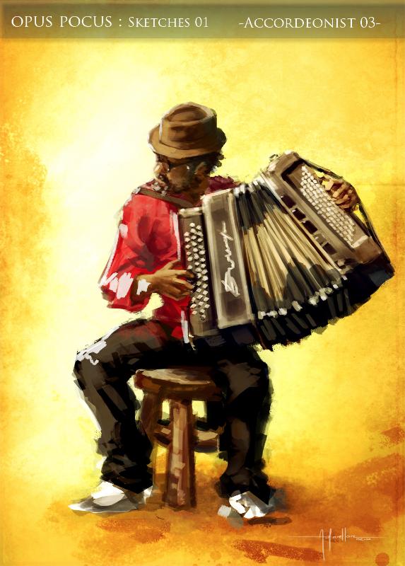 """L'illustration finale du festival de musique """"Opus Pocus"""""""