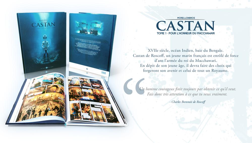 Castan T.1 - Pour l'honneur du Macchawari