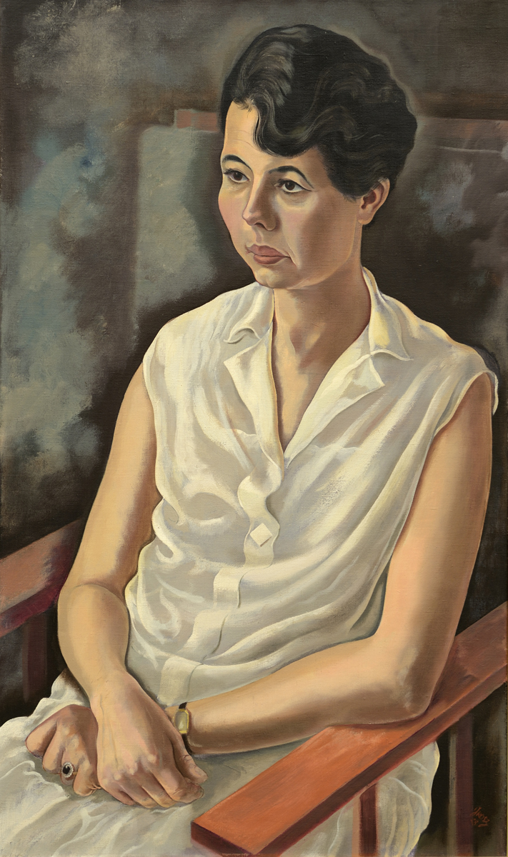 George Grosz - Frau Plietzsch 1928  GALLERIA DE FOSCHERARI.jpg