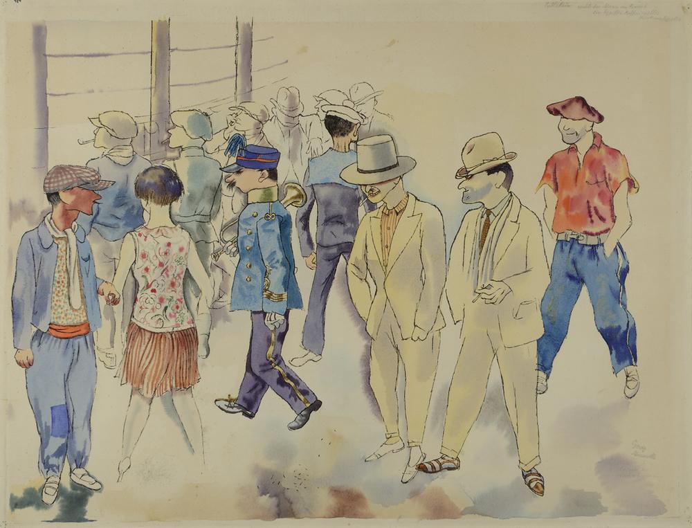 George Grosz - Marsiglia 1927 - GALLERIA DE 'FOSCHERARI.jpg