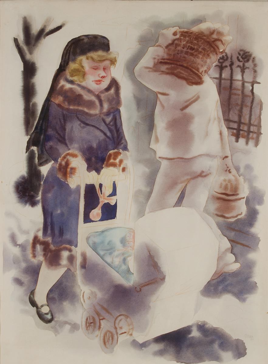 George Grosz - Il Rampollo1928-1930- galleria de 'foscherari .jpg