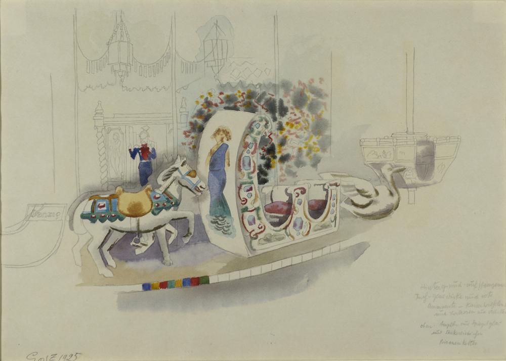 George Grosz - La giostra - 1925 -GALLERIA DE 'FOSCHERARI.jpg