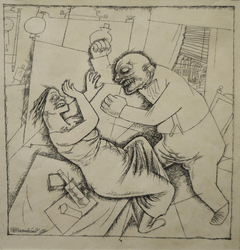 George Grosz - Delitto sessuale - GALLERIA DEì FOSCHERARI .jpg