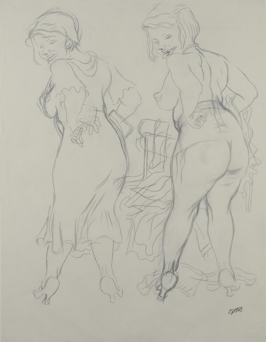 George Grosz - Figura - 1928 - GALLERIA DE FOSCHERARI .jpg