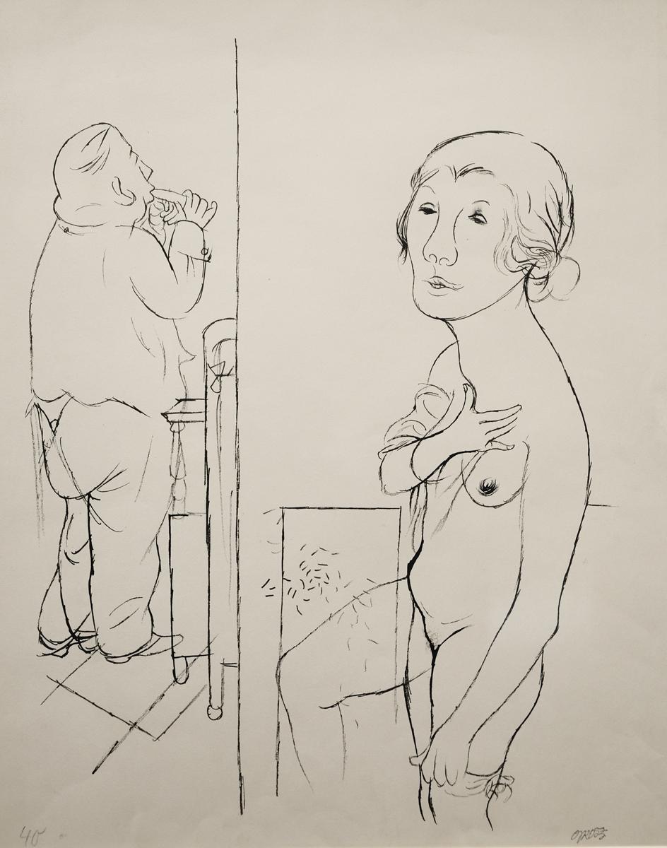 George Grosz morgentoilette 1925 GALLERIA DE'FOSCHERARI .jpg