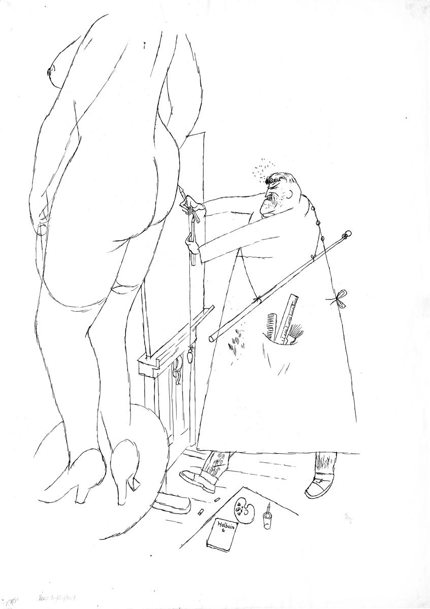 George Grosz - Nuova oggettivita - GALLERIA DE' FOSCHERARI .jpg