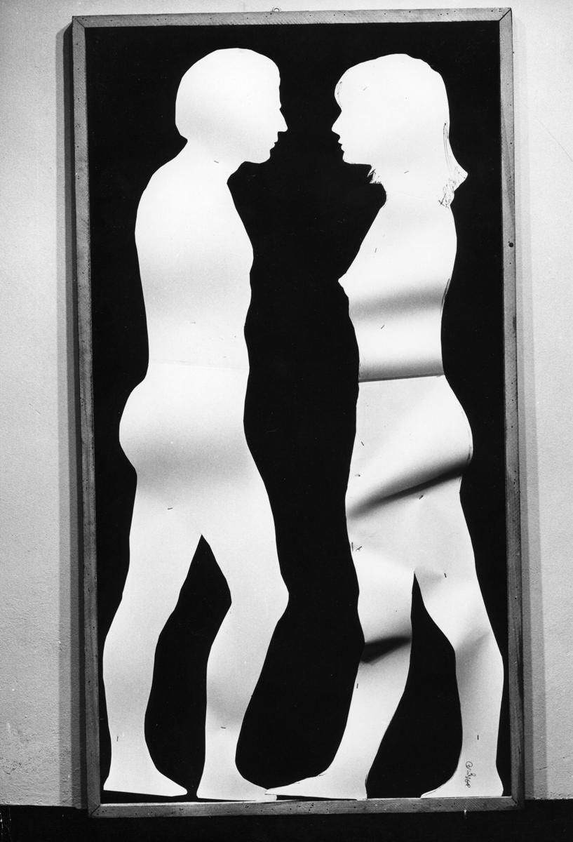 mario Ceroli - Aria di Daria 1968 -Galleria de 'Foscherari.jpg