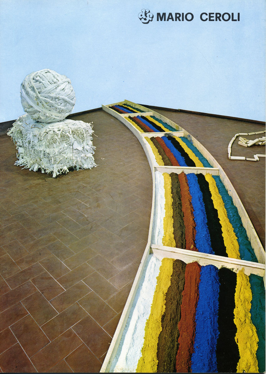ceroli  -1970-catalogo - Galleria de Foscherari 77003.jpg