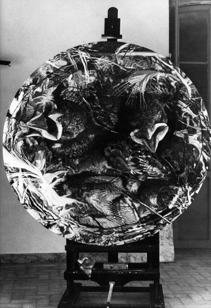 Claudio Cintoli Galleria de foscherari 1977.jpg