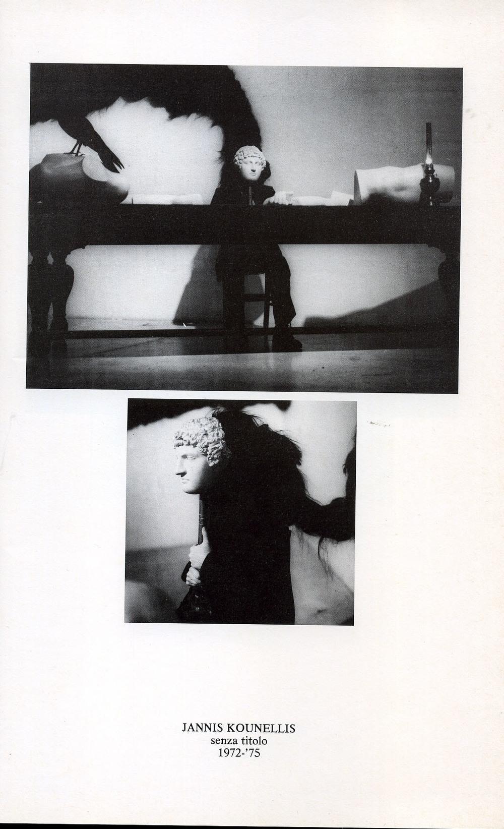 le figure del tempo - Kounellis- Galleria de ' foscherari .jpg