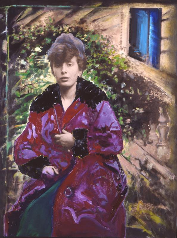 Fioroni Giosetta La mamma galleria de foscherari .jpg