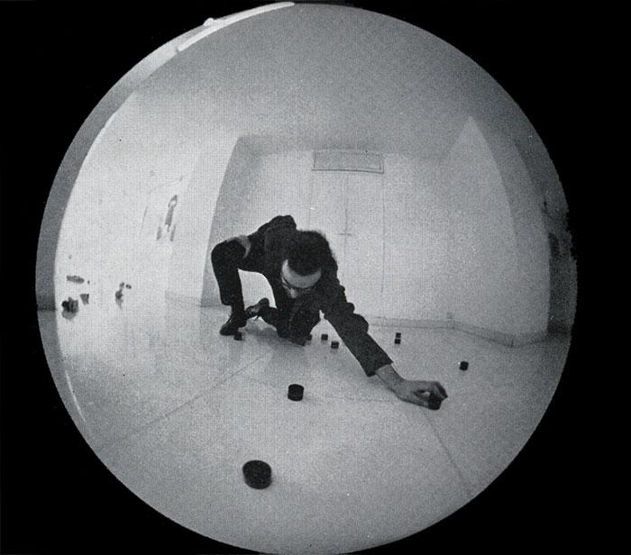 Emilio Prini ipotesi sullo spazio totale